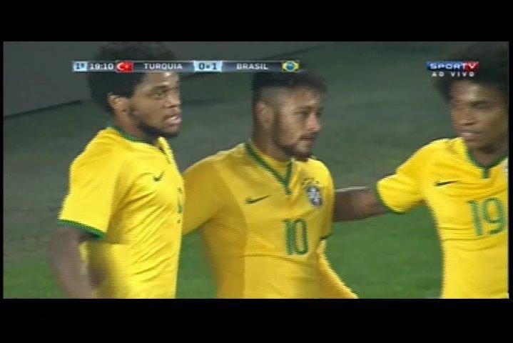 Video: Türkei – Brasilien (0-4), Testspiel
