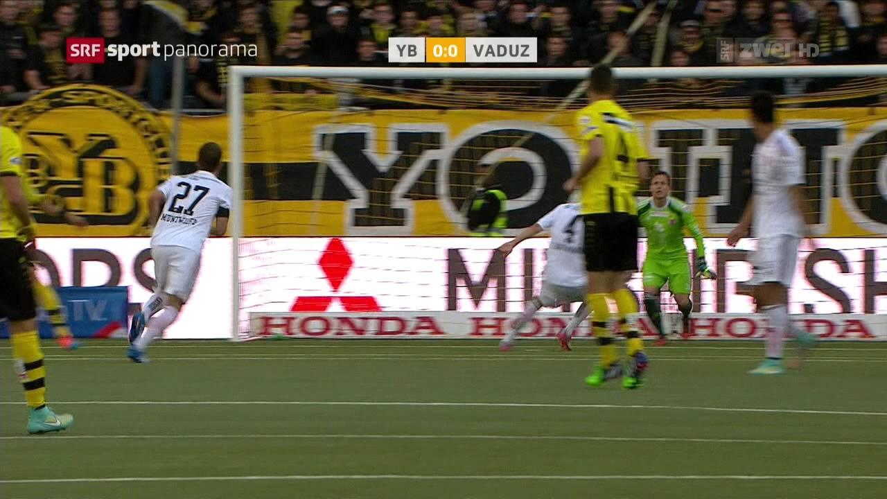 Video: Young Boys – FC Vaduz (0-1), Super League