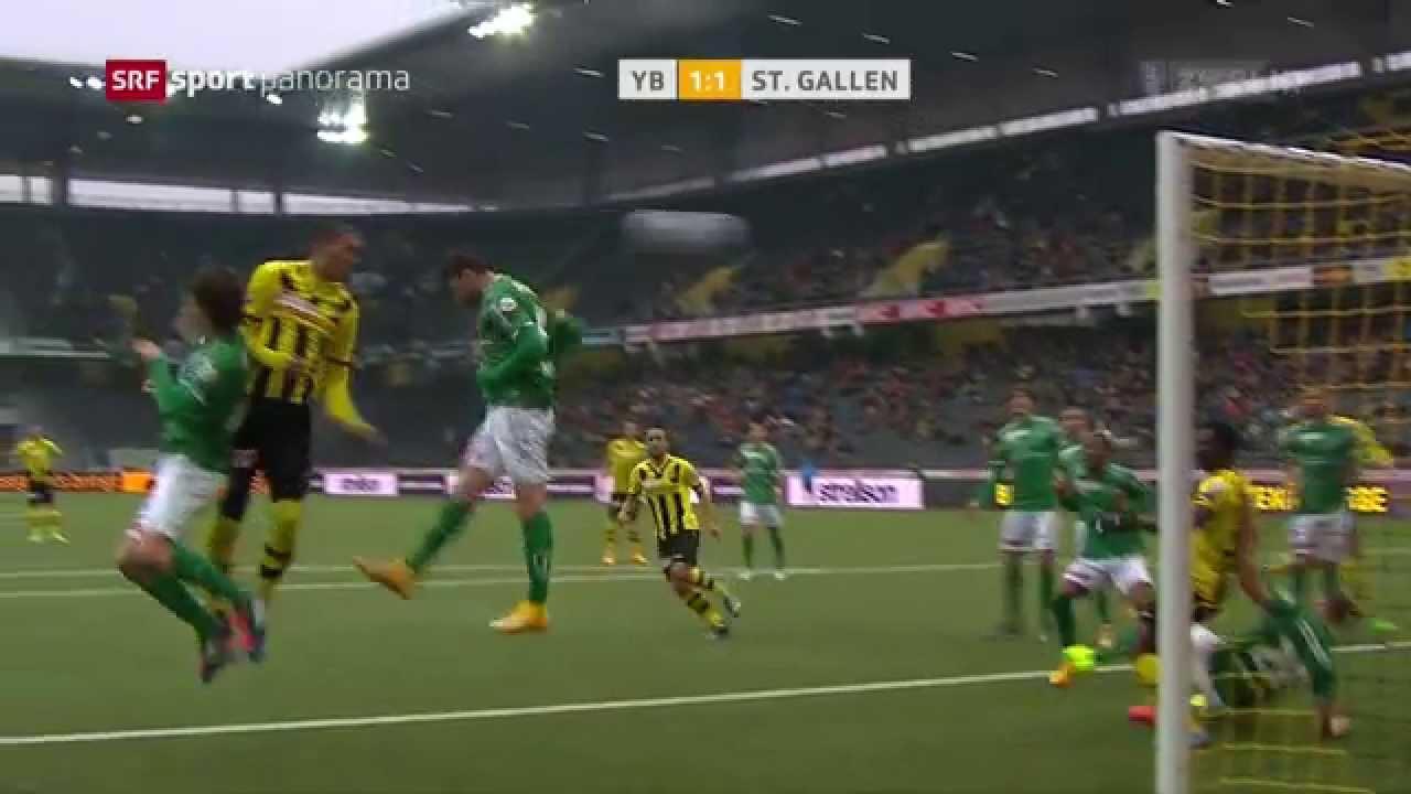 Video: Young Boys – St. Gallen (4-2), Super League