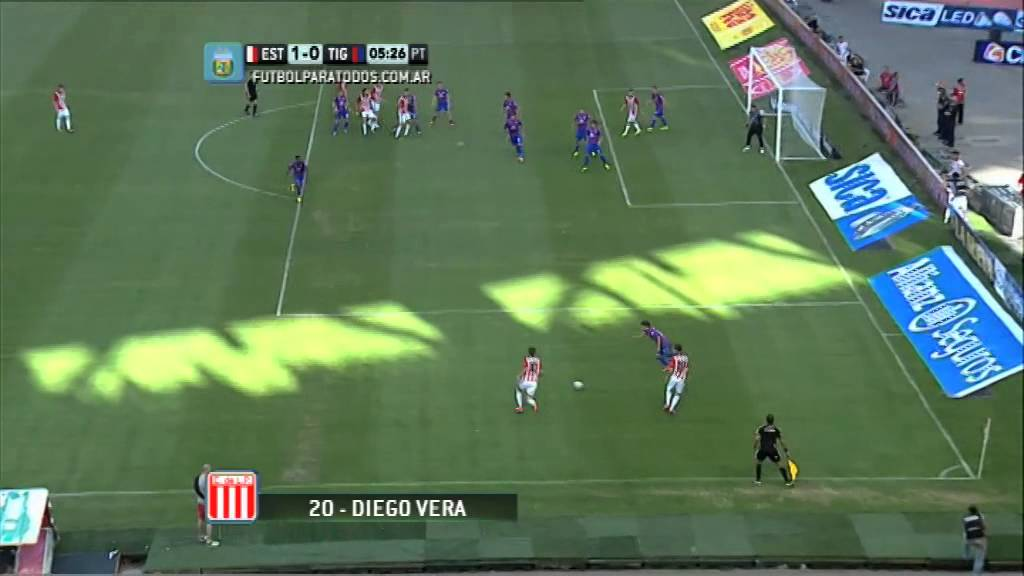 Video: Estudiantes – Tigre (4-2), Primera Division