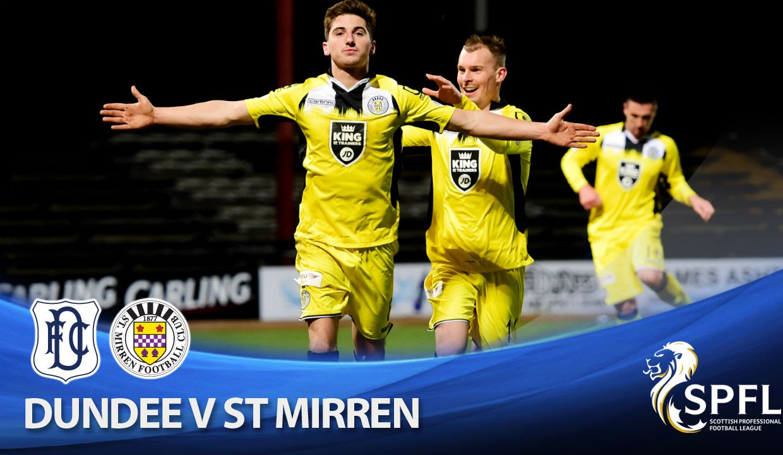 Video: FC Dundee – FC St. Mirren (1-3), SPFL