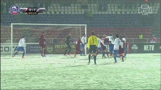Video: Mordowia – Dynamo Moskau (0-1), Premier Liga