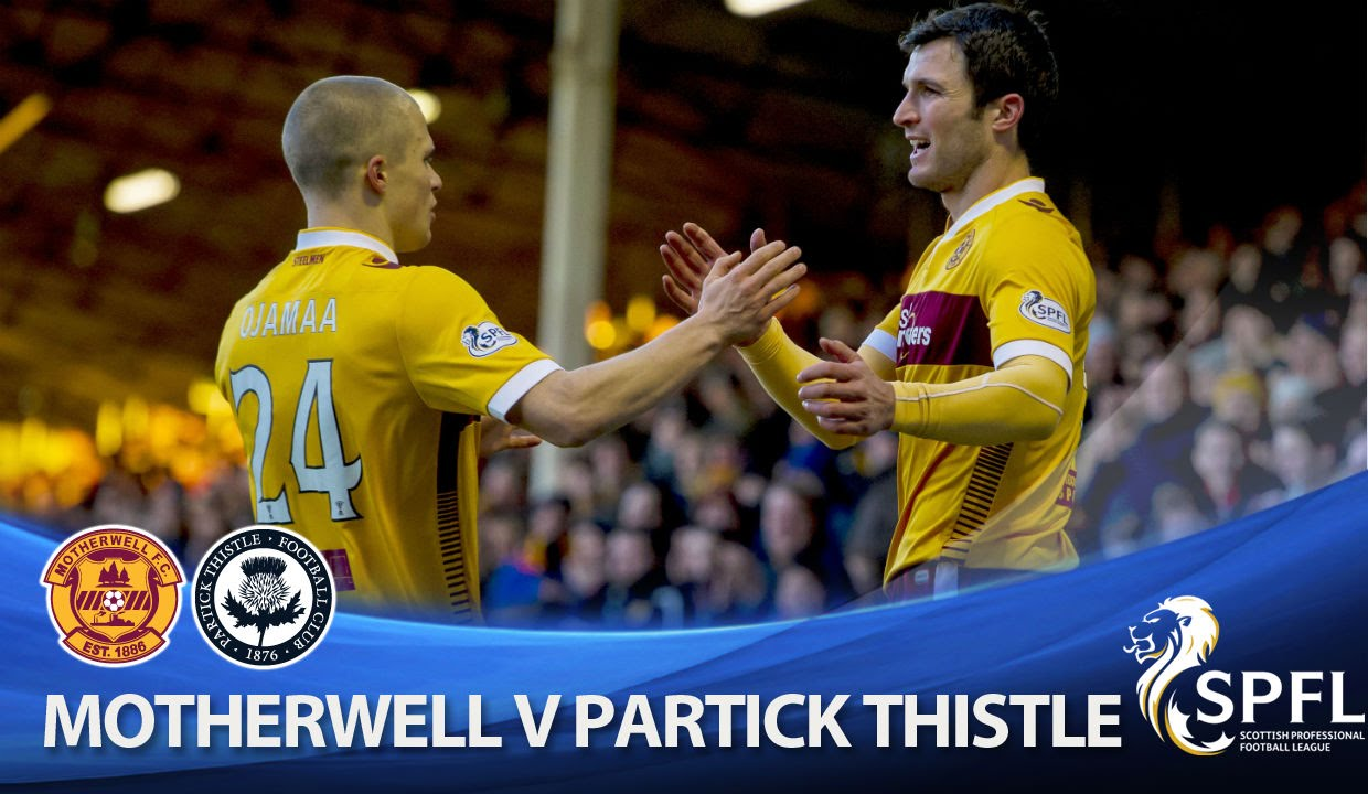 Video: Motherwell – Partick Thistle (1-0), SPFL