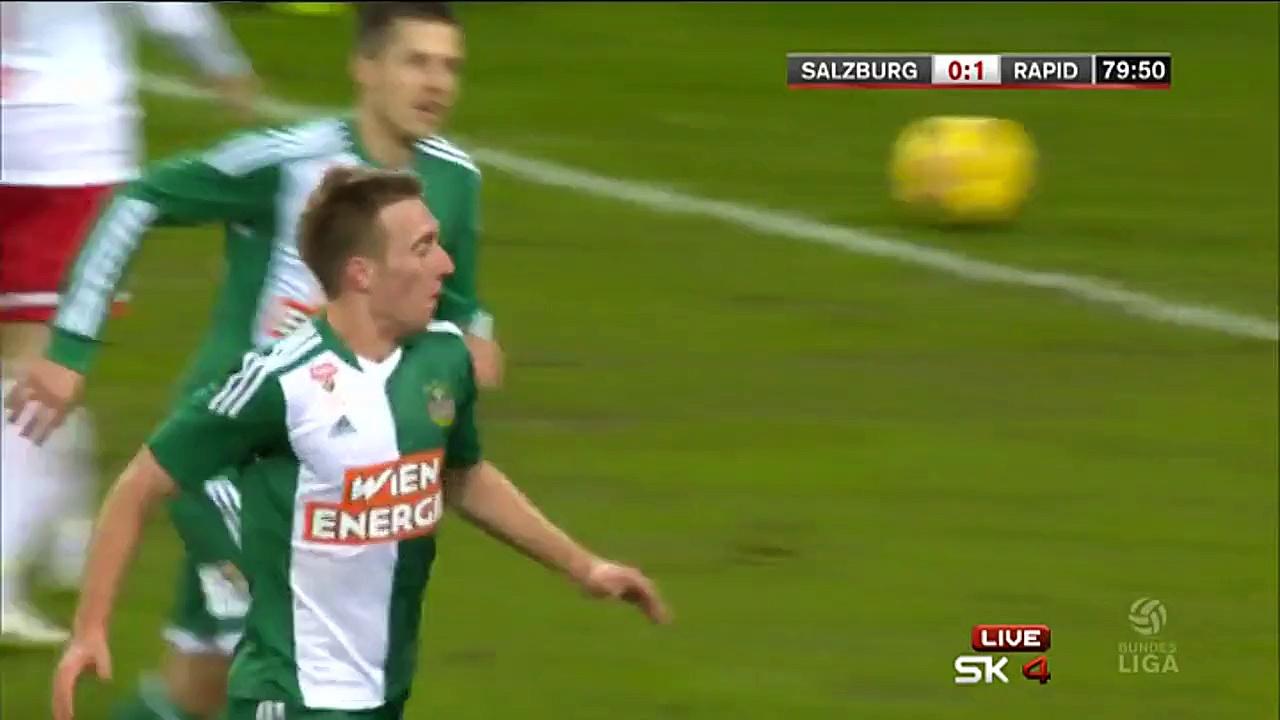 Video: RB Salzburg – Rapid Wien (1-2), Bundesliga