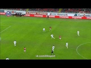 Video: Spartak Moskau – Ural (2-0), Premier Liga