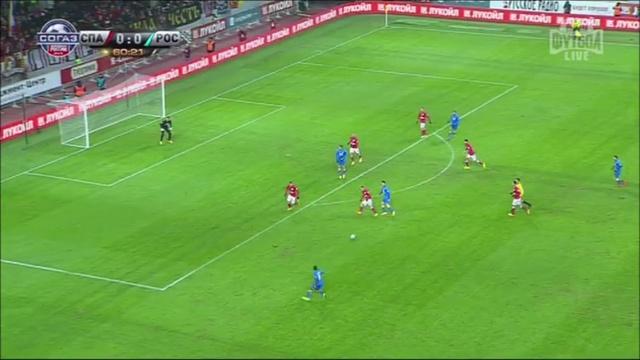 Video: Spartak – Rostow (1-1), Premier Liga