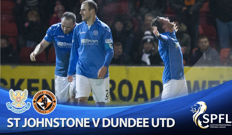 Video: St. Johnstone – Dundee Utd (2-1), SPFL