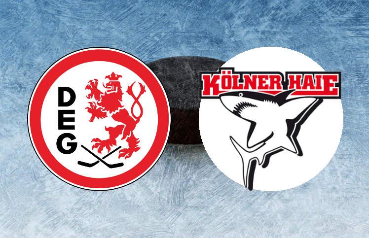 Düsseldorfer EG Kölner Haie Winter Game