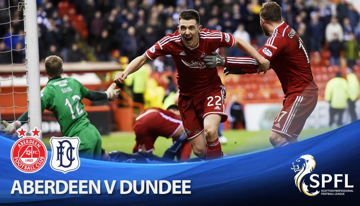 Video: Aberdeen – FC Dundee (3-3), SPFL