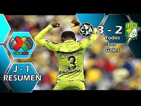 Video: America – Club Leon (3-2), Liga MX