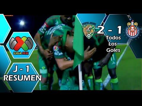 Video: Chiapas – Deportivo Guadalajara (2-1), Liga MX