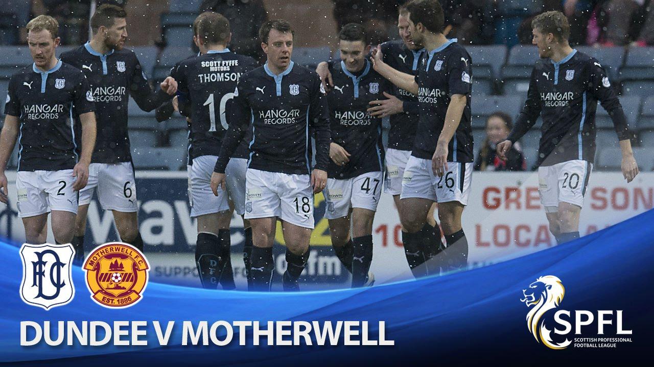 Video: FC Dundee – Motherwell (4-1), Scottish Premiership