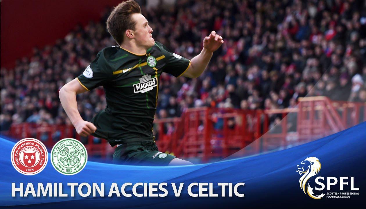 Video: Hamilton – Celtic (0-2), SPFL