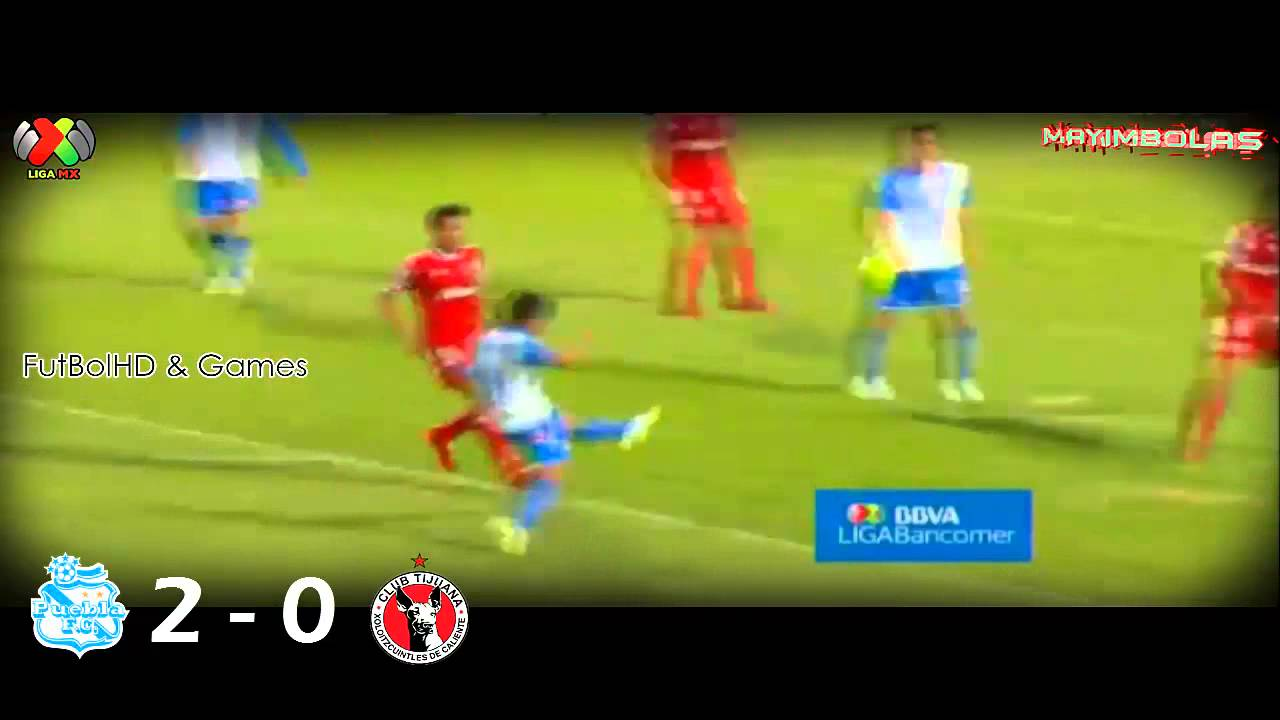 Video: Puebla – Club Tijuana (2-1), Liga MX