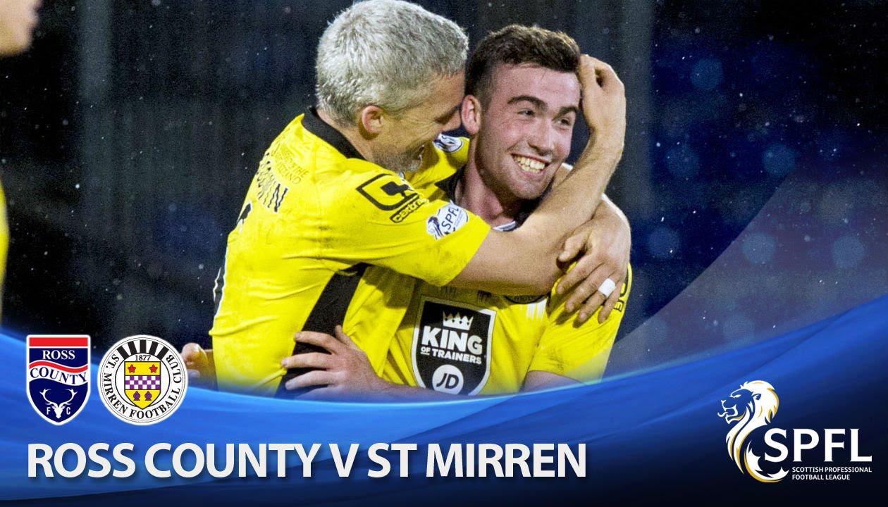 Video: Ross County – St. Mirren (1-2), SPFL