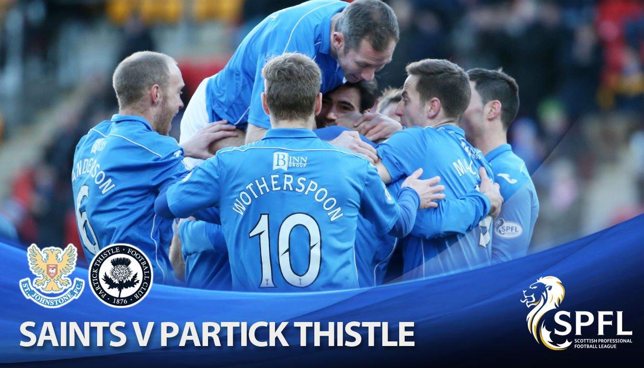 Video: St. Johnstone – Partick Thistle (2-0), SPFL