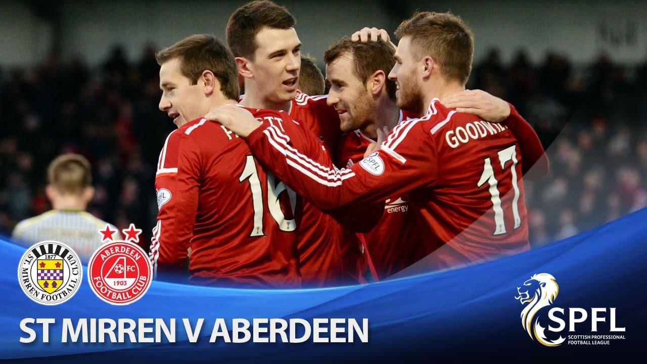 Video: St. Mirren – Aberdeen (0-2), Scottish Premiership