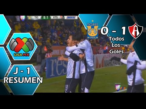 Video: Tigres – Atlas (0-1), Liga MX