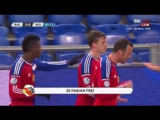 Video: Basel – Vaduz (1-0), Super League