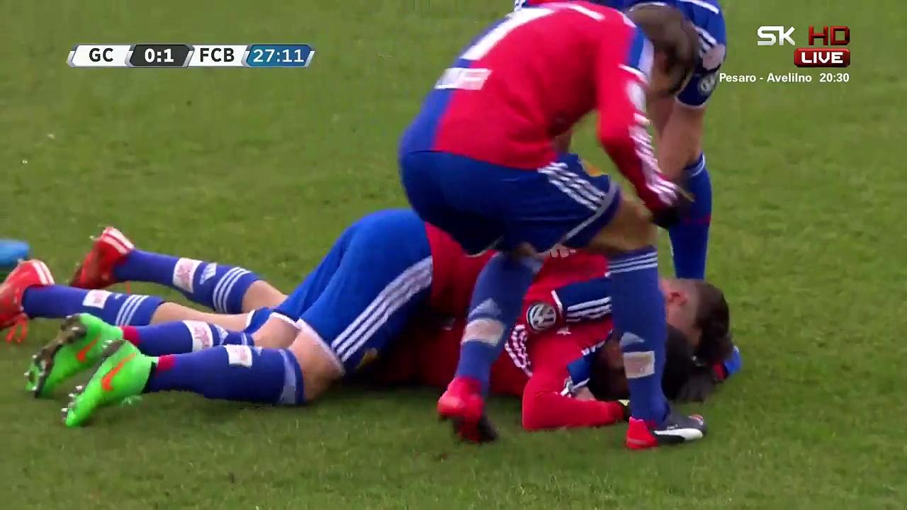 Video: Grasshopper – FC Basel (2-4), Super League