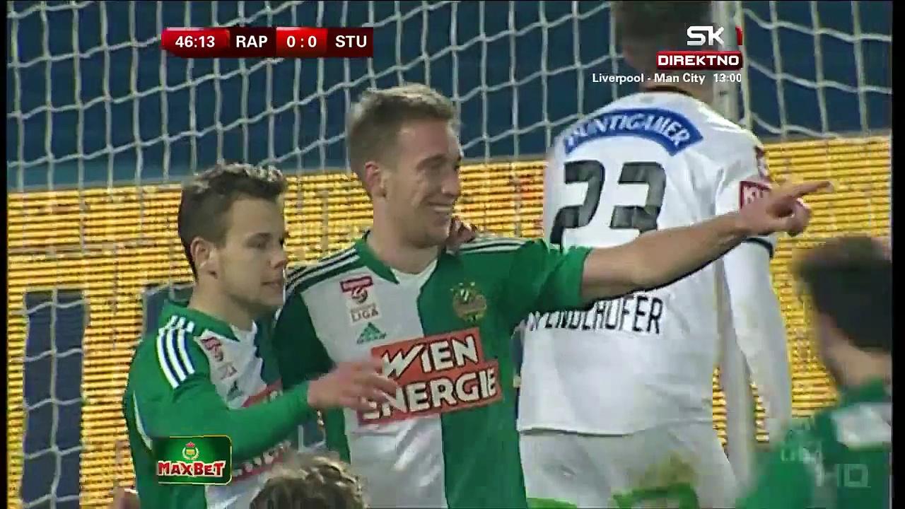 Video: Rapid – Sturm (1-0), Bundesliga