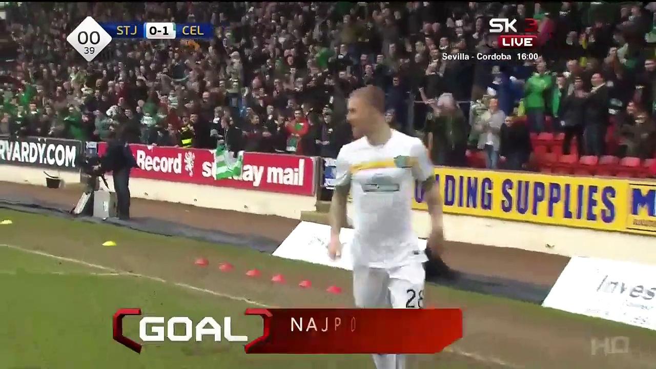 Video: St. Johnstone – Celtic (1-2), SPFL