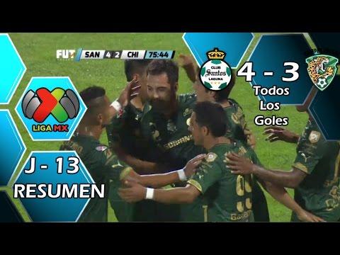 Video: Santos Laguna – Jaguares (4-3), Liga MX