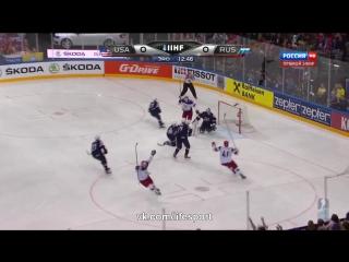 Video: USA – Russland (0-4), Eishockey WM 2015