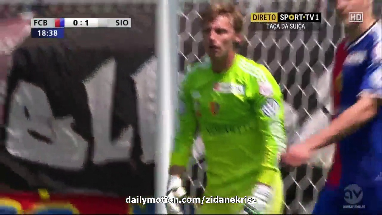 Video: FC Basel – FC Sion (0-3), Swiss Cup