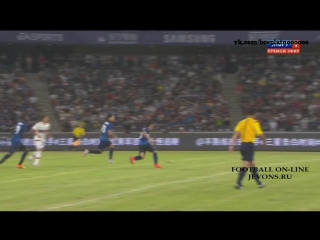 Video: AC Milan – Inter Mailand (1-0), Testspiel
