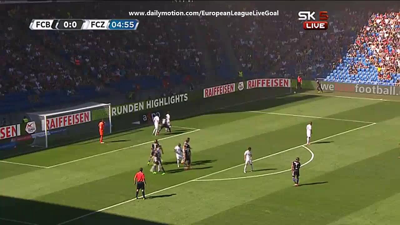 Video: FC Basel – FC Zürich (3-1), Super League