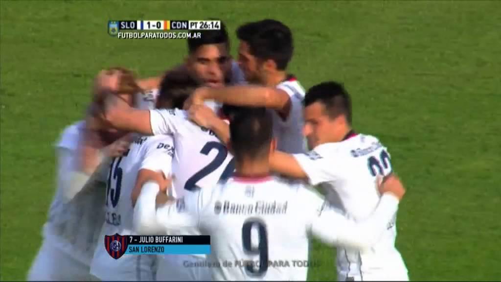Video: San Lorenzo – Crucero (2-1), Primera Division