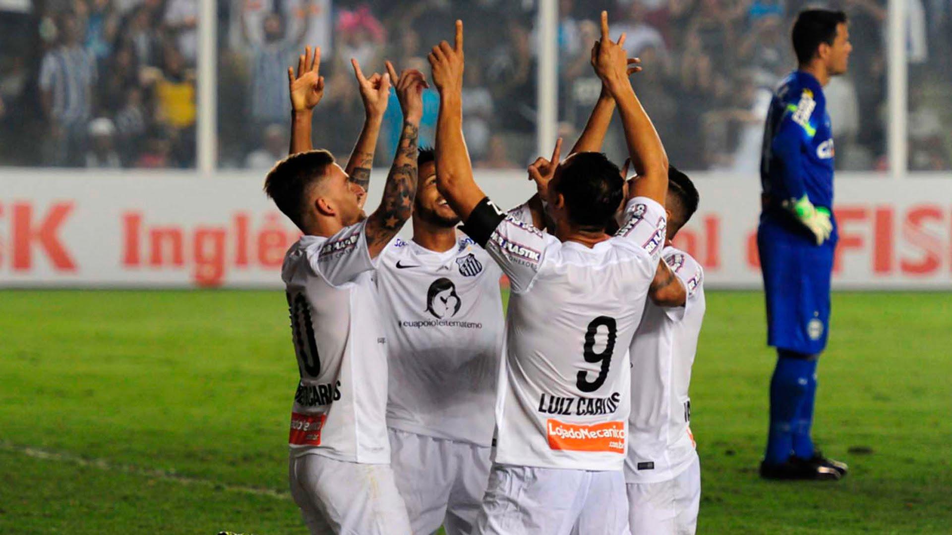 Video: Santos – Coritiba (3-0), Serie A