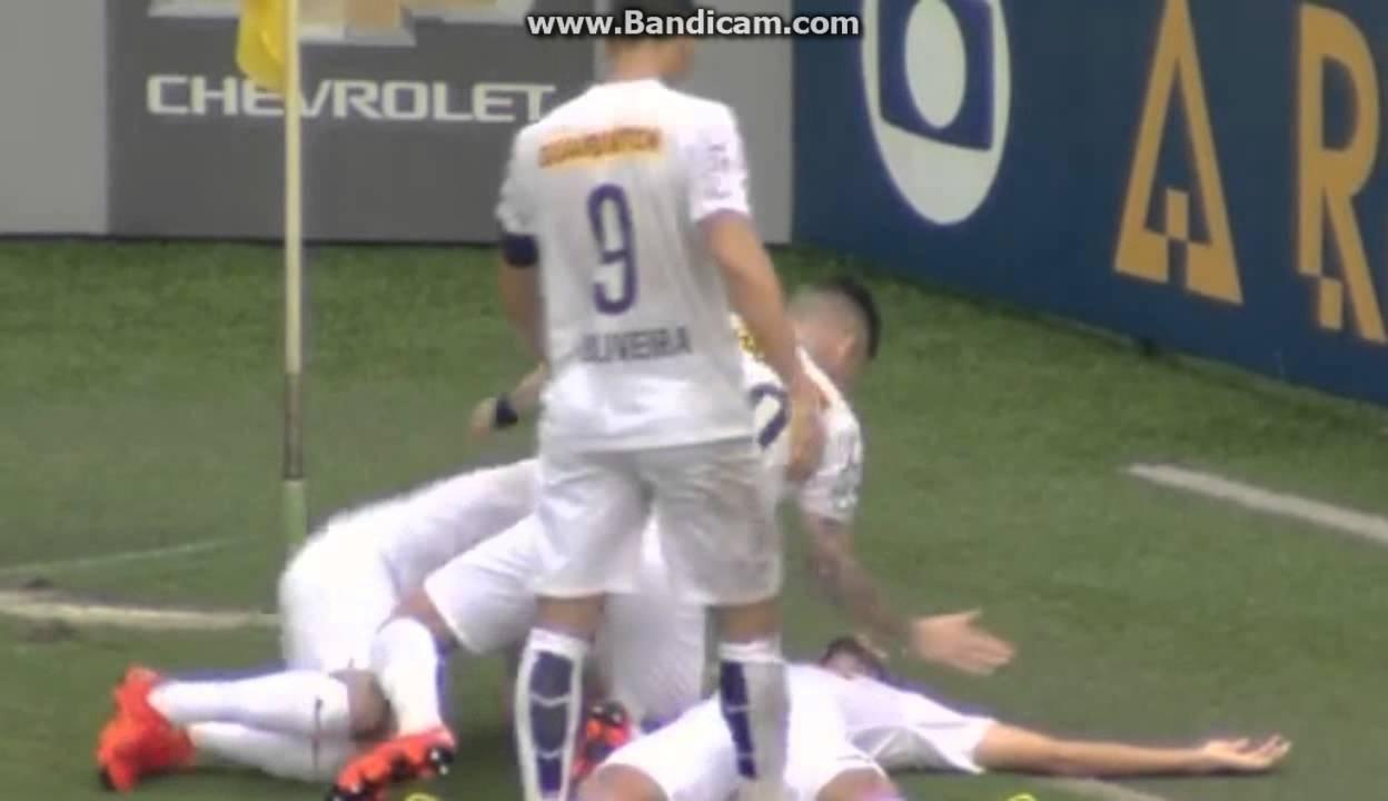 Video: Santos – Palmeiras (2-1), Serie A