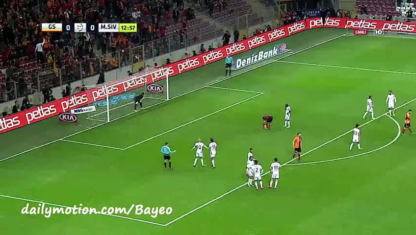 Video: Galatasaray – Sivasspor (3-1), Süper Lig